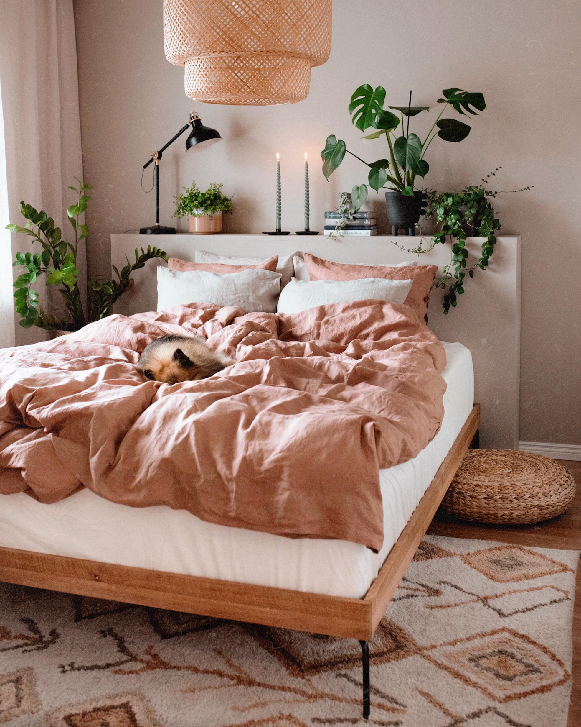 DIY sängynpääty